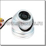 JK-615 SD Серебряная: компактная антивандальная купольная камера
