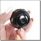 Беспроводная автономнаяWi-Fi IP HD МИНИ камера с удаленным доступом JMC WF-54
