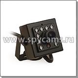 Скрытая камера в объемный датчик
