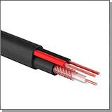 КВК кабель для видеонаблюдения коксиальный и переходники bnc купить