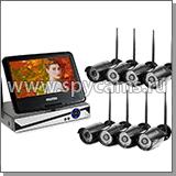 Комплект видеонаблюдения на 8-16 камер купить