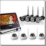 8 канальный комплект Wi-Fi видеонаблюдения «Okta Vision Optimus 4х4 - 2.0»