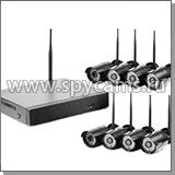 Готовые комплекты WiFi видеонаблюдения для частного дома, дачи и квартиры