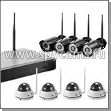 8-канальный комплект видеонаблюдения «Okta Vision Антрацит 4х4 - 2.0»