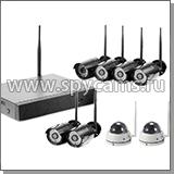 8 канальный комплект видеонаблюдения «Okta Vision Антрацит 6х2 - 2.0»