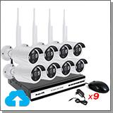 Облачный комплект беспроводного видеонаблюдения на 8 камер Okta Vision Cloud-01