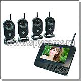 Комплекты видеонаблюдения на 2 и 4  камеры с регистратором