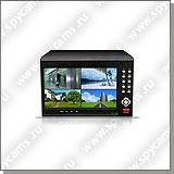 4-канальный видеорегистратор с 7-дюймовым монитором DVR 9204