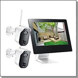 Комплект видеонаблюдения на 2 камеры купить систему наблюдения на две камеры