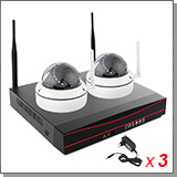 Беспроводной комплект для дома на 2 камеры «Twin Vision Home - 1.0»