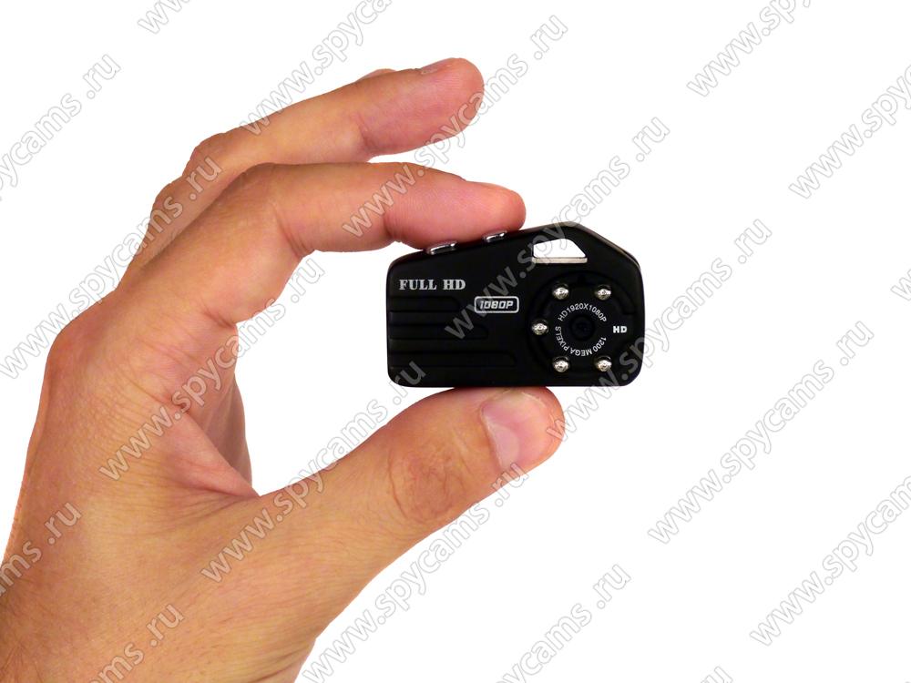 Микрокамера с датчиком движения записью на карту памяти