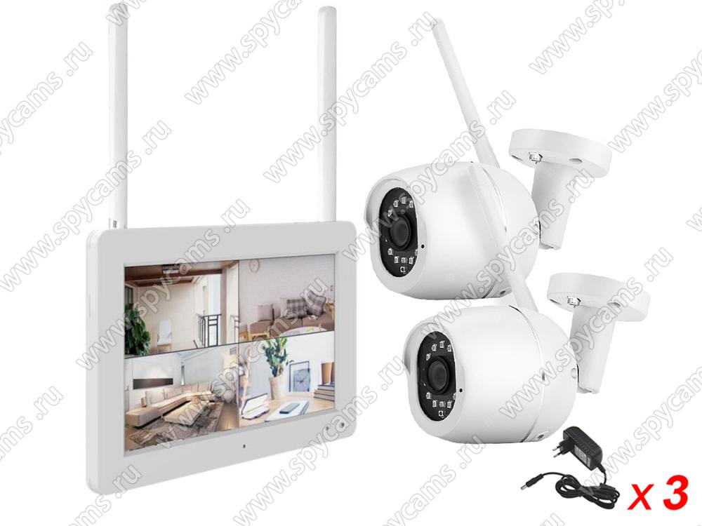 комплект видеонаблюдения для дачи купить