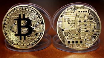 """Сувенирная монета """"Биткоин"""""""