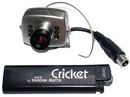 Скрытая беспроводная шпионская камера M-208C