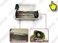 Проводная уличная CCD камера в термокожухе: KDM-6229H