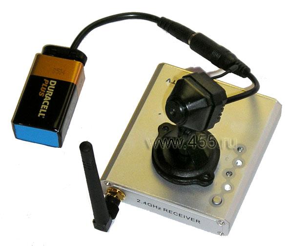 Как сделать микровидеокамеру
