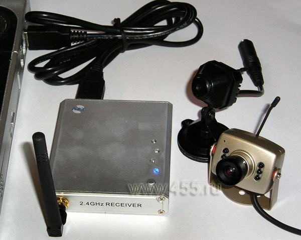 Видеонаблюдение камера с микрофоном и динамиком