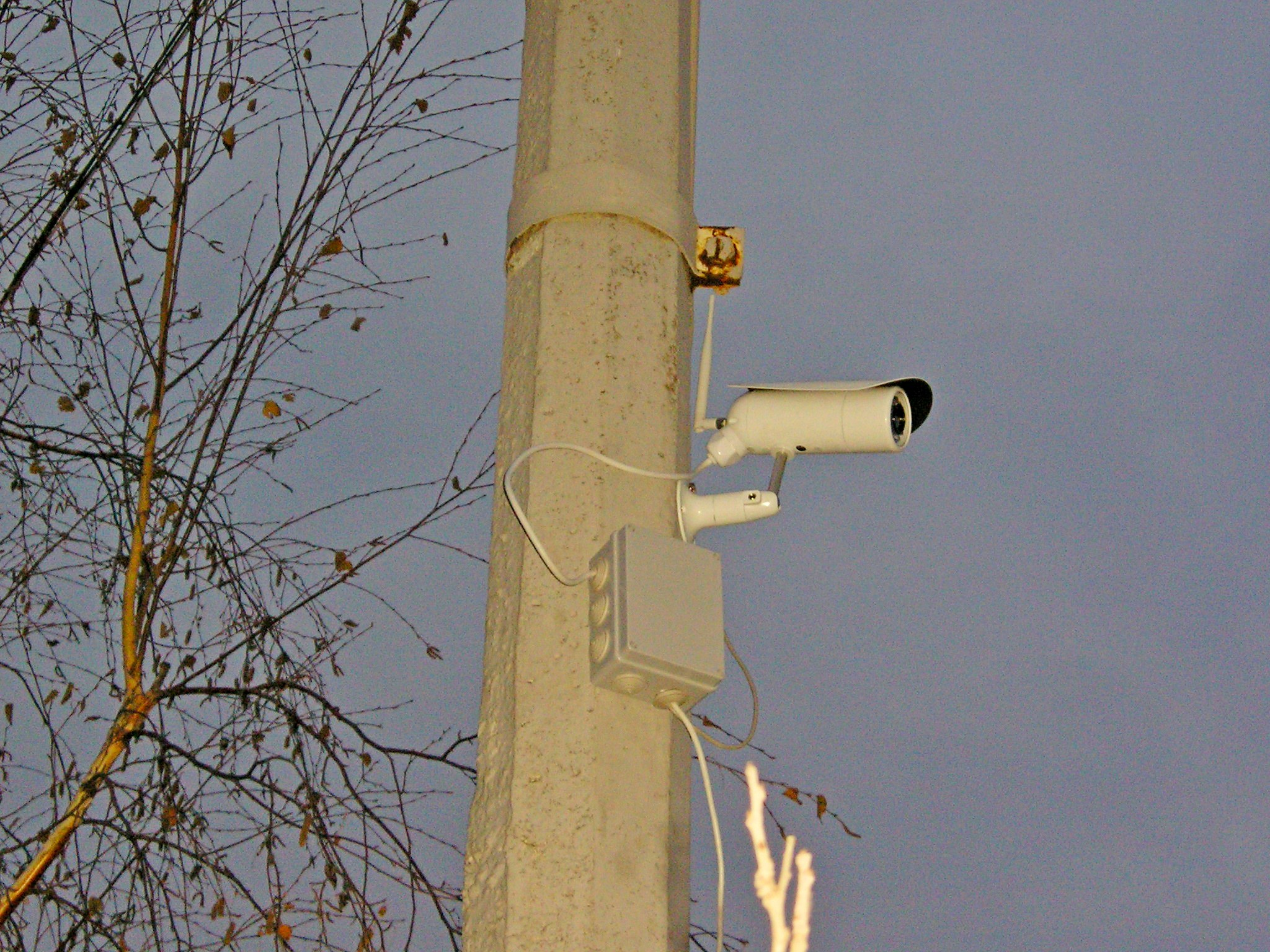 Крепление для камеры видеонаблюдения своими руками