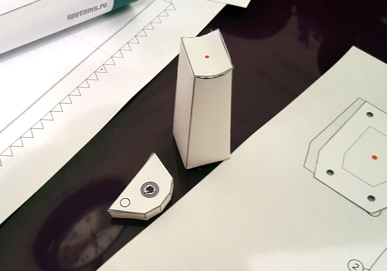 Как сделать камеру видеонаблюдения из бумаги своими руками 52
