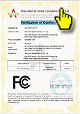 ознакомиться с международными сертификатами на видеорегистраторы