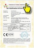 ознакомиться с международными сертификатами на видеорегистраторы марки СКАЙБЕСТ